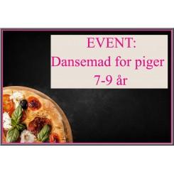 EVENT: Dansemad for piger 7-9 år