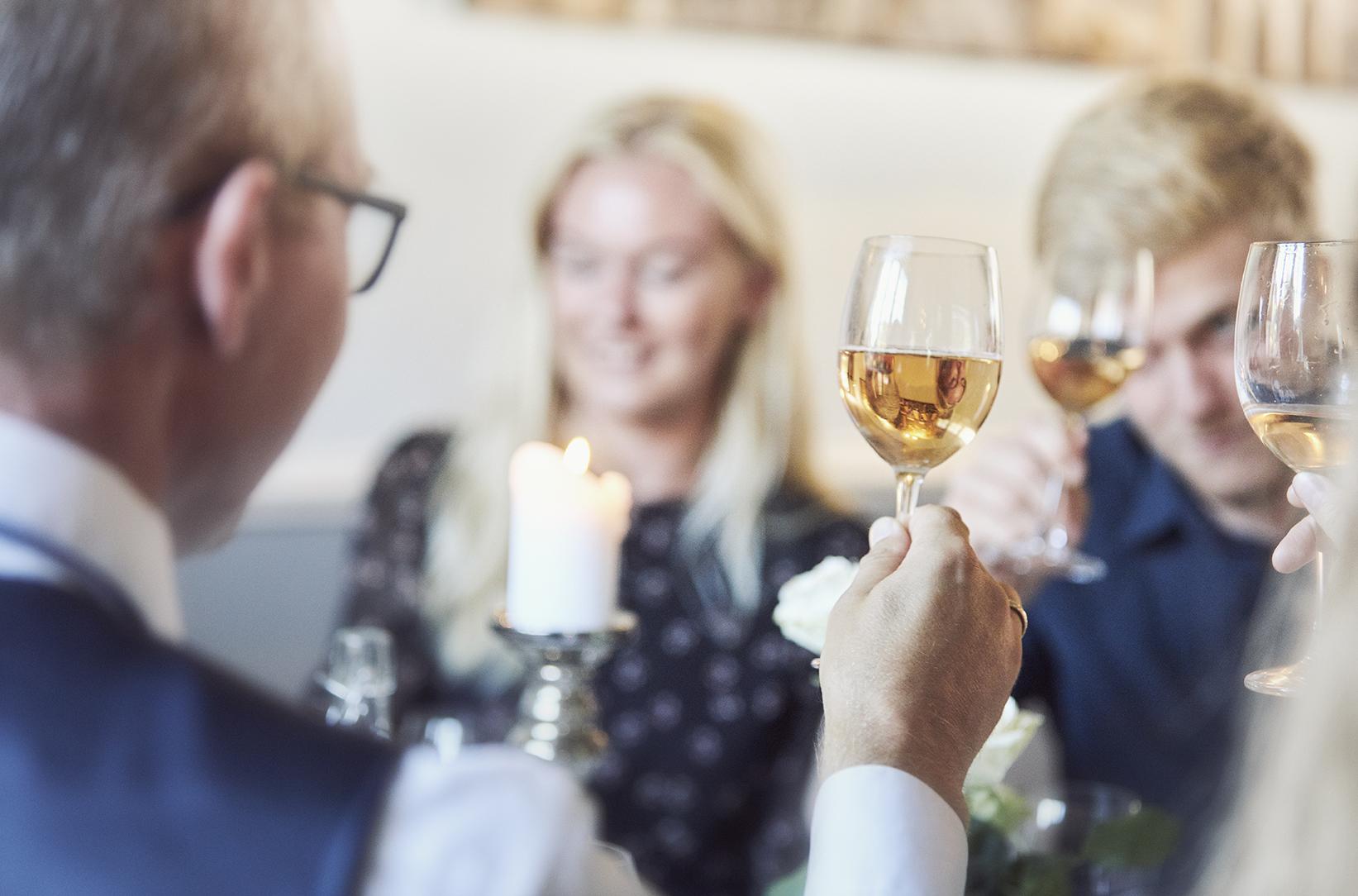Champagnesmagning i Hørning Huset på Amager